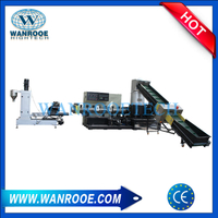 PP PE Plastic Film Pelletizing Granulating Machine