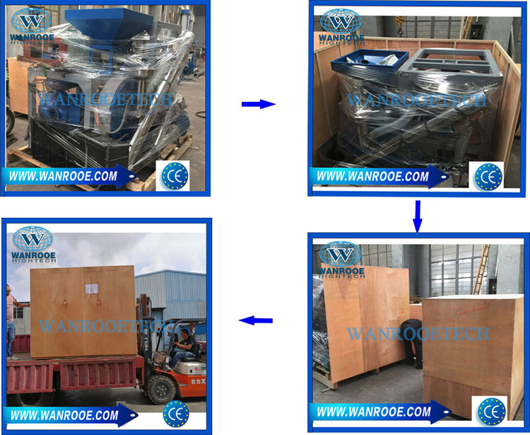 PE、LLDPE、LDPE、MDPE、HDPE Disc Plastic Pulverizer Machine packing