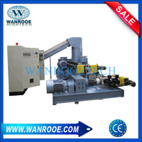 PE PP Film Double Stage Plastic Pellet Making Machine