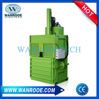 PET PP HDPE Bottle Hydraulic Baler Waste Plastic Baling Machine