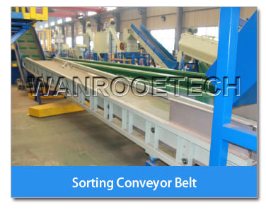 sorting conveyor belt