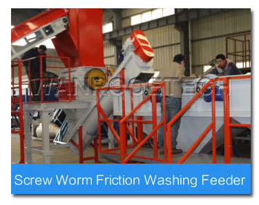 Screw Worm Friction Washing Feeder