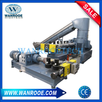 Double Stage PP PE LDPE HDPE BOPP Film Granulating Line With Compactor